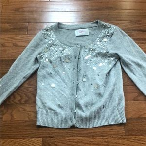 Justice girl sparkly cardigan